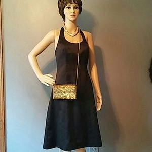 David's Bridal Cocktail Dress Black sz 2